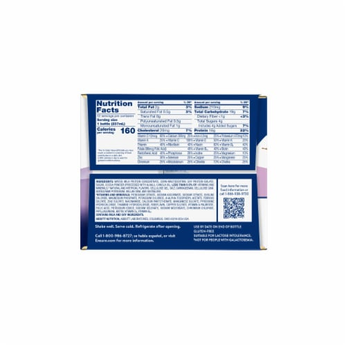 Ensure High Protein Milk Chocolate Ready-to-Drink Nutrition Shake Perspective: right