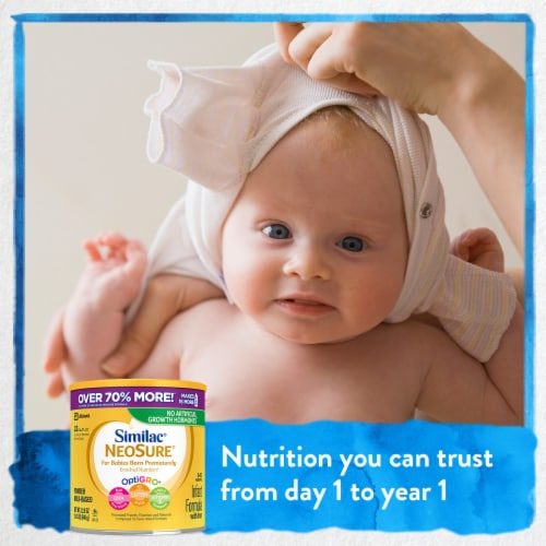 Similac® NeoSure For Babies Born Prematurely Powder Infant Formula Perspective: right