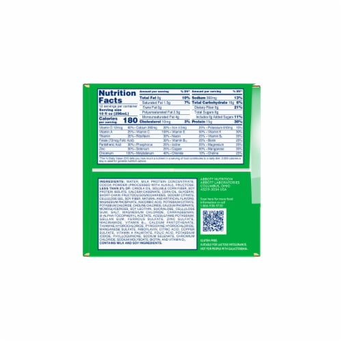 Glucerna Hunger Smart Rich Chocolate Nutritional Shakes Perspective: right