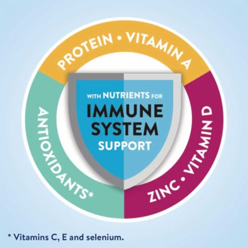 Ensure Complete Vanilla Nutrition Shakes Perspective: right