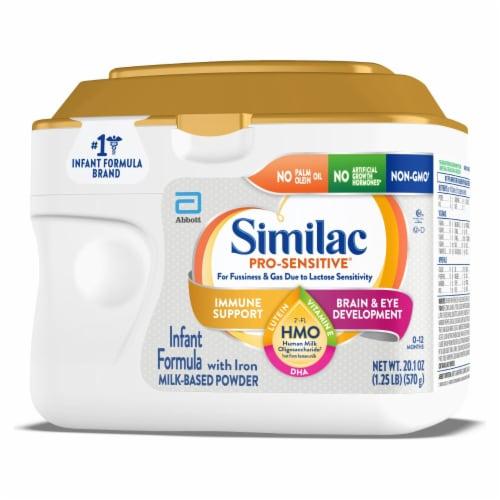 Similac Pro-Sensitive Milk-Based Powder Infant Formula with Iron Perspective: right