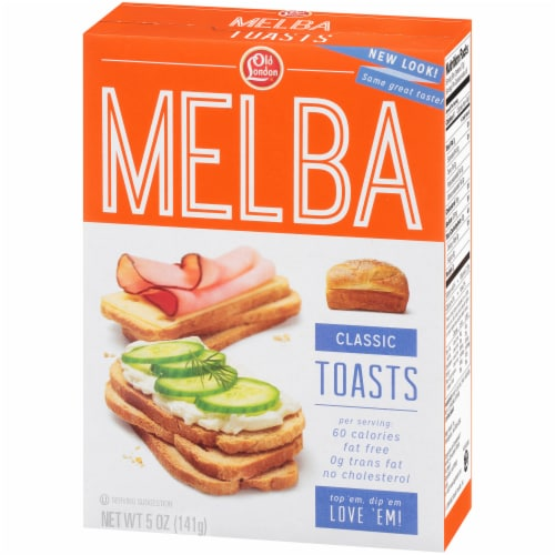 Old London Classic Melba Toasts Perspective: right