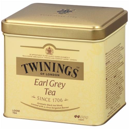 Twinings Of London Earl Grey Tea Loose Tea Tin Perspective: right