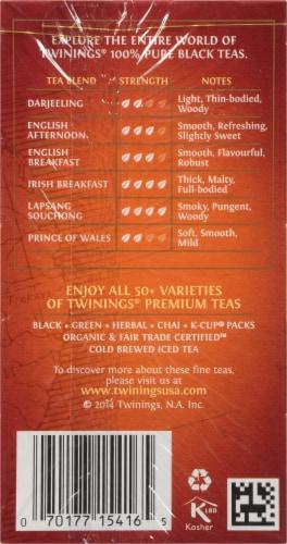 Twinings of London Ceylon Orange Pekoe Pure Black Tea Bags Perspective: right