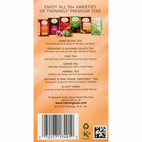 Twinings Of London Buttermint Herbal Tea Bags Perspective: right