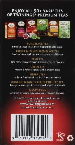 Twinings Of London Mixed Berry Premium Black Tea Bags Perspective: right