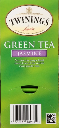Twinings Of London Jasmine Green Tea Bags Perspective: right