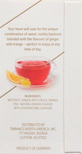 Twinings Of London Nourish Orange & Ginger Herbal Tea Bags Perspective: right