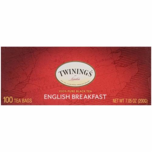 Twinings English Breakfast Tea Perspective: right