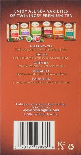 Twinings Of London Organic Rooibos Herbal Tea Bags Perspective: right