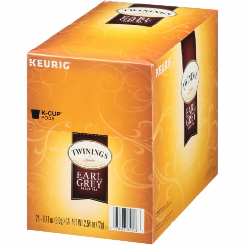 Twinings Of London Earl Grey Tea K-Cup Pods Perspective: right