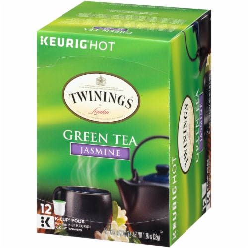 Twinings Jasmine Green Tea K-Cups® Perspective: right