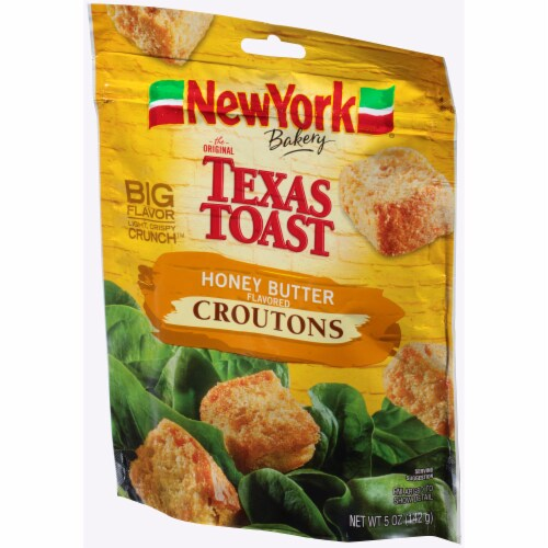 New York Bakery Texas Toast Honey Butter Croutons Perspective: right