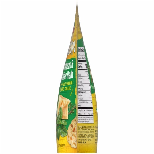 New York Bakery Parmesan & Italian Herb Cheese Crisps Perspective: right