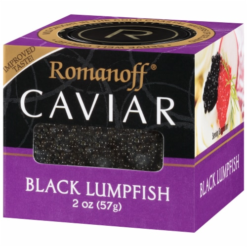 Romanoff Black Lumpfish Caviar Perspective: right