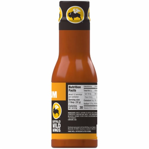 Buffalo Wild Wings Medium Sauce Perspective: right