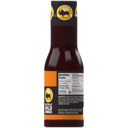 Buffalo Wild Wings Asian Zing Sauce Perspective: right