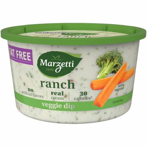 Marzetti Fat Free Ranch Veggie Dip Perspective: right