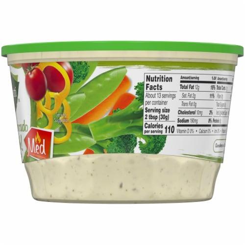Marzetti Spicy Avocado Ranch Veggie Dip Perspective: right