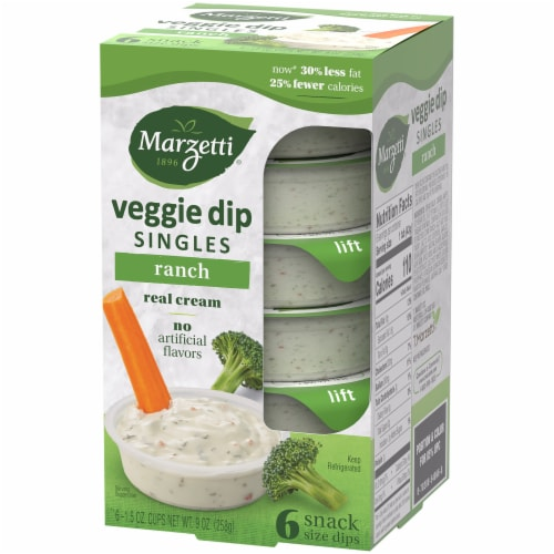 Marzetti Ranch Veggie Dip Snack Packs Perspective: right