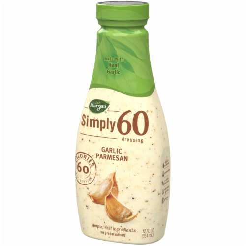 Marzetti Simply 60 Garlic Parmesan Dressing Perspective: right