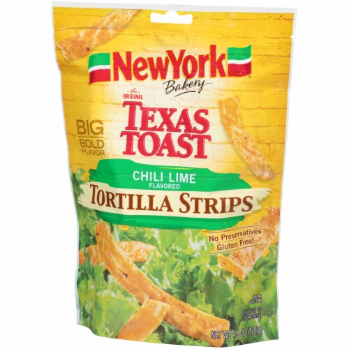 New York Bakery Chili Lime Tortilla Strips Perspective: right