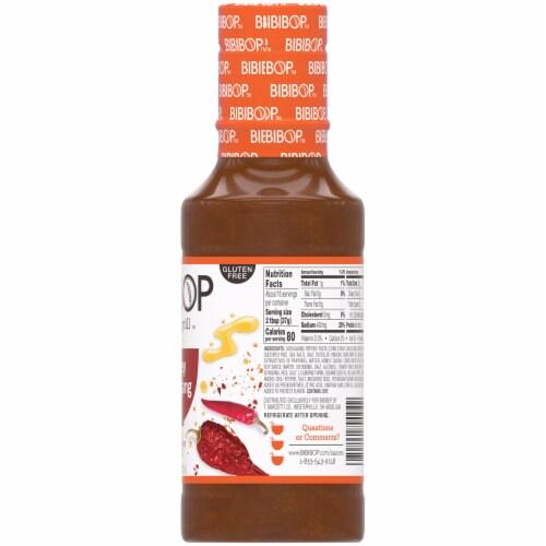 Bibibop Asian Grill Honey Gochujang Sauce Perspective: right