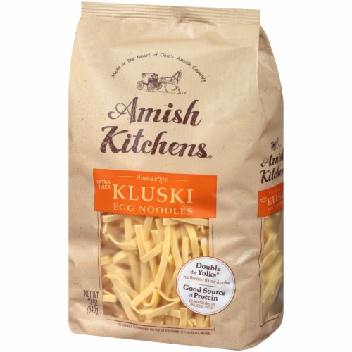 Amish Kitchens Extra Thick Kluski Egg Noodles Perspective: right