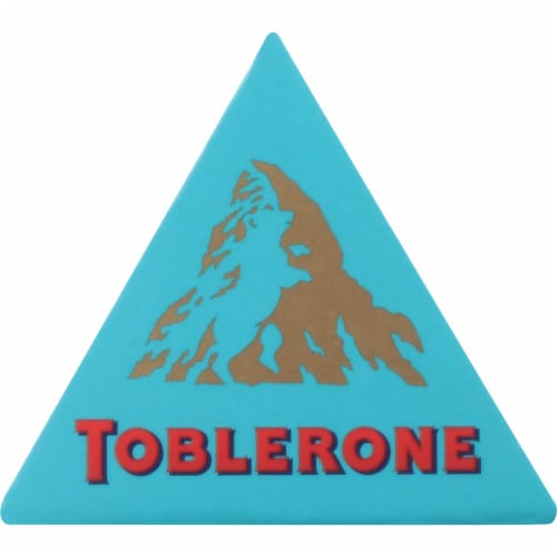 Toblerone Crunchy Salted Almond Swiss Milk Chocolate Bar Perspective: right