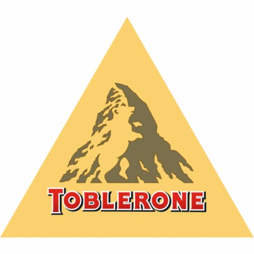 Toblerone Swiss Milk Chocolate Bar Perspective: right