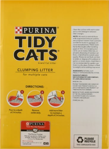 Tidy Cats 24/7 Performance Clumping Multi-Cat Litter Perspective: right