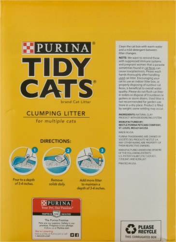 Tidy Cats® Instant Action Multi-Cat Clumping Litter Perspective: right