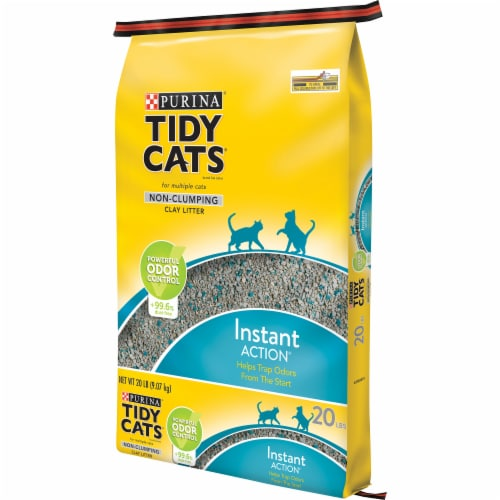 Tidy Cats Instant Action Low Tracking Non Clumping Cat Litter Perspective: right