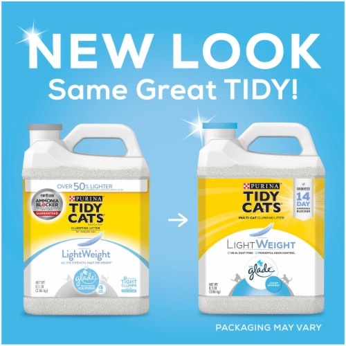Tidy Cats LightWeight Glade Clear Springs Clumping Multi-Cat Litter Perspective: right