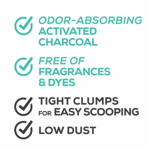 Tidy Cats Free & Clean Unscented Clumping Multiple Cat Litter Perspective: right