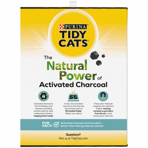 Purina Tidy Cats Natually Strong Unscented Litter Perspective: right
