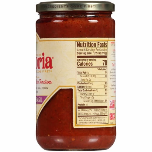 Victoria Tomato Basil Sauce Perspective: right