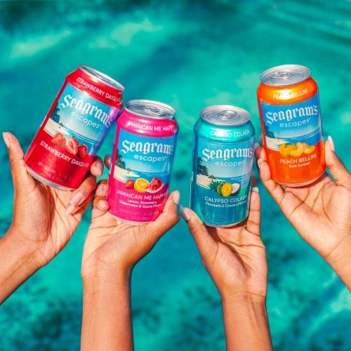 Seagram's Escapes Premium Malt Beverage Variety Pack Perspective: right