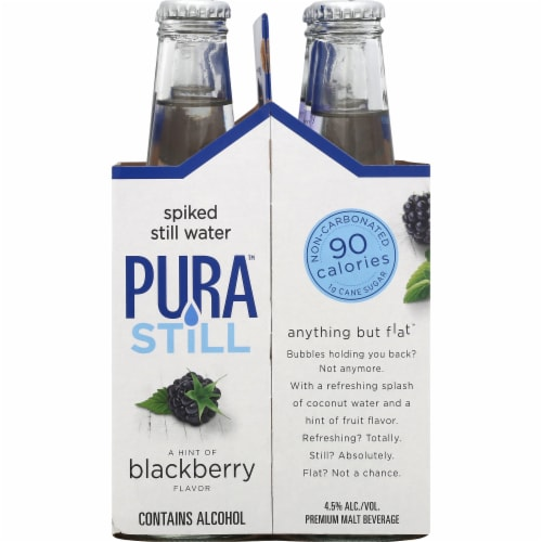 Pura Blackberry Spiked Still Water Perspective: right