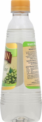 Pompeian White Wine Vinegar Perspective: right