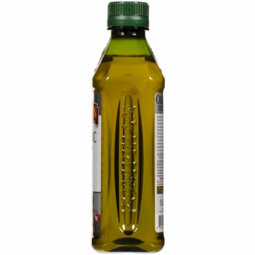 Pompeian Organic Smooth Extra Virgin Olive Oil Perspective: right