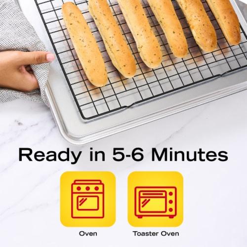 New York Bakery Garlic Bread Sticks Perspective: right