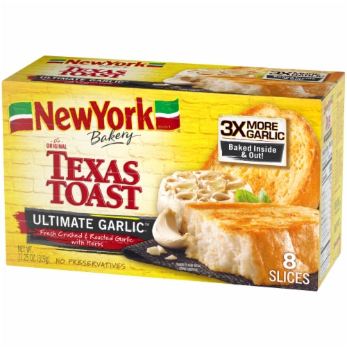 New York Bakery Ultimate Garlic Texas Toast Perspective: right