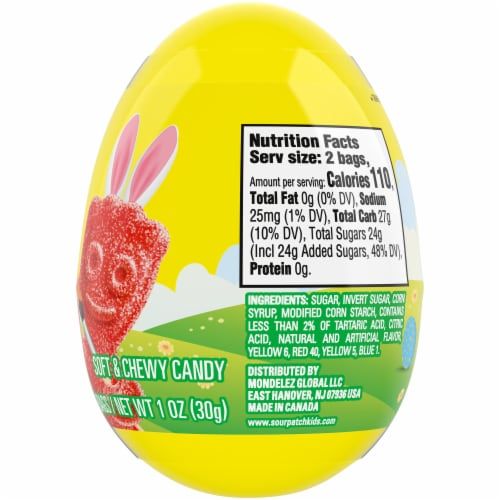 Sour Patch Kids Easter Egg Perspective: right