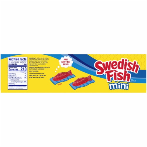 Swedish Fish Mini Soft & Chewy Candy Perspective: right