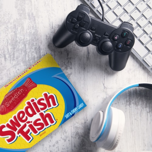 Swedish Fish Soft & Chewy Candy Perspective: right