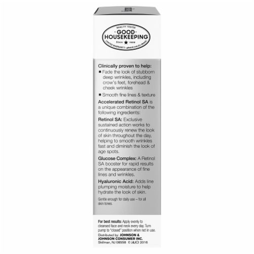 Neutrogena Wrinkle Rapid Repair Moisturizer SPF 30 Perspective: right