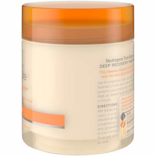 Neutrogena Triple Moisture Deep Recovery Hair Mask Perspective: right