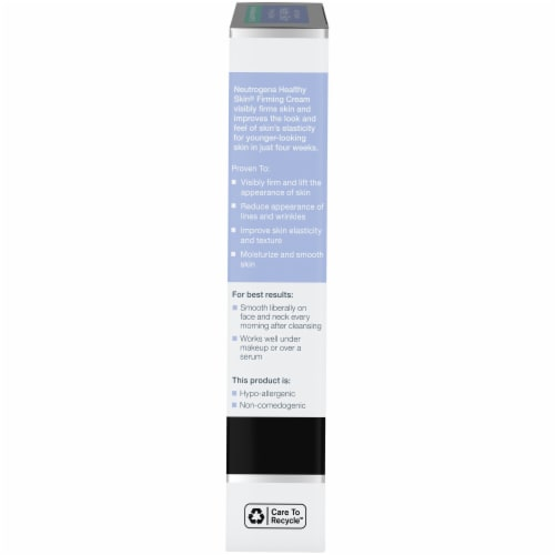 Neutrogena Healthy Skin Face Firming Cream SPF 15 Perspective: right