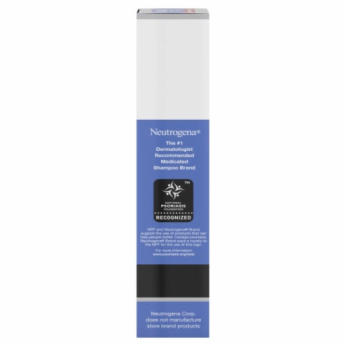 Neutrogena T/Sal Scalp Build-Up Control Therapeutic Shampoo Perspective: right